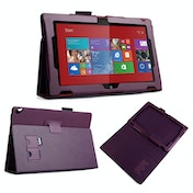 YouSave Accessories Nokia Lumia 2520 Leather-Effect Stand Case - Purple