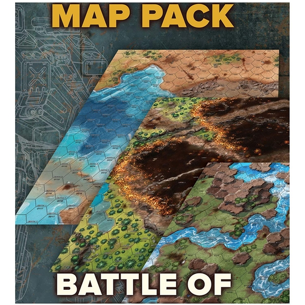 BattleTech MapPack Battle For Tukayyid