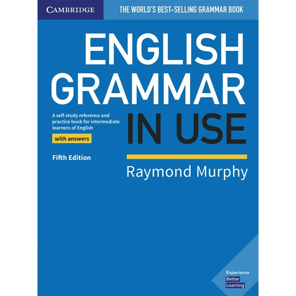 English Grammar in Use Book with Answers: A Self-study Reference and Practice Book for Intermediate Learners of English Paperback - Illustrated, 24 Jan. 2019