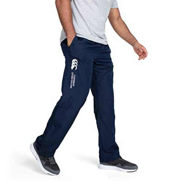 Canterbury Men's Open Hem Stadium Pants, Navy, X-Large