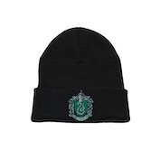 Harry Potter - Slytherin Crest Men's  Beanie - Black