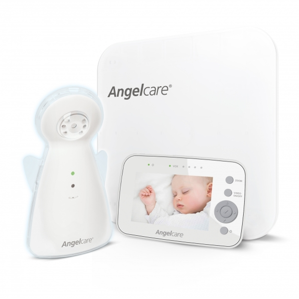 Angelcare AC1300 Digital Video, Movement and Sound Baby Monitor (UK Plug)