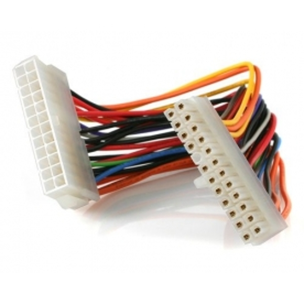 Image of 8in 24 Pin ATX 2.01 Power Extension Cable