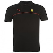 Puma Ferrari Polo Shirt Black Medium Black