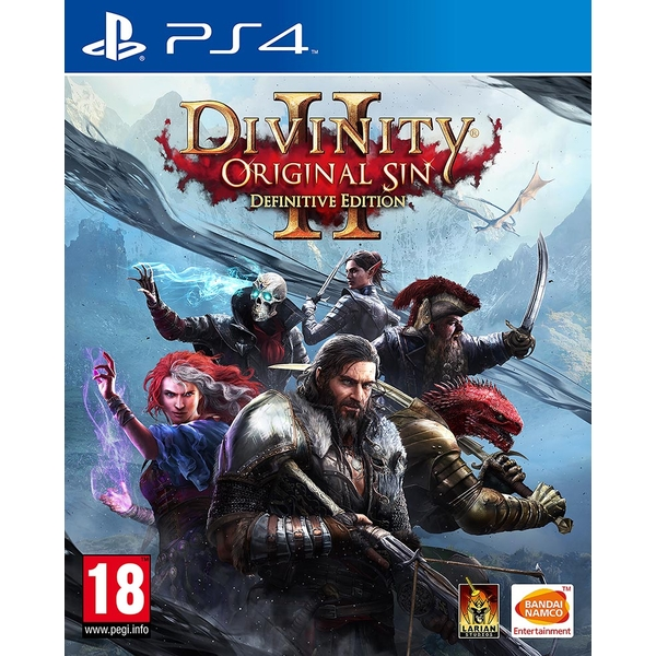 Divinity Original Sin II Definitive Edition PS4 Game
