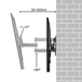 Swivel & Tilt TV Wall Bracket | Pukkr - Image 6