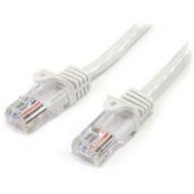 StarTech 2m Cat5e White Snagless RJ45 UTP Cat 5e Patch Cable - 2m Patch Cord