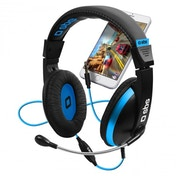 SBS Stereo Gaming Headphones Blue/Black
