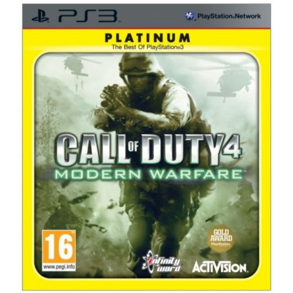 Call Of Duty 4 Modern Warfare Game (Platinum) PS3