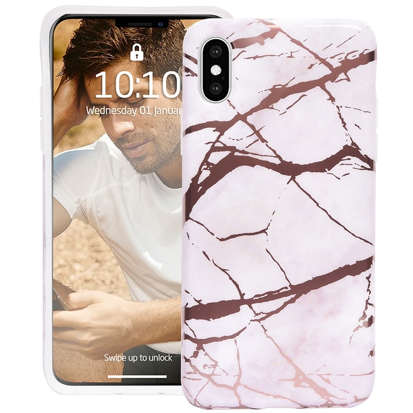 Groov-e GVMP047 Design Case for iPhone X/XS - Marble