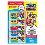 EPL Match Attax 2017/18 Trading Card Game Multipack