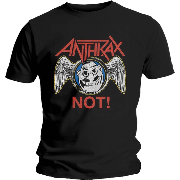 Anthrax - Not Wings Unisex Large T-Shirt - Black