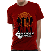 Clockwork Orange - Gang Men's Small T-Shirt - Red