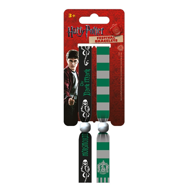 Harry Potter - Slytherin Wristbands