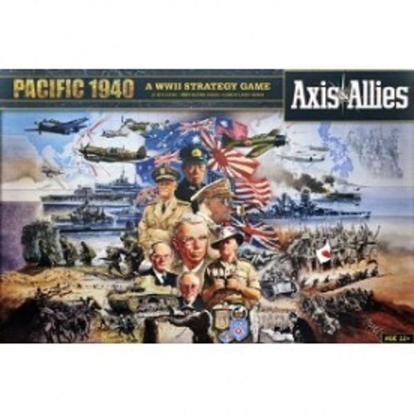 Axis & Allies Pacific 1940 2nd Edition Board Game