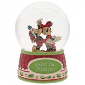 Under The Mistletoe (Mickey Mouse & Minnie Mouse) Disney Traditions Waterball