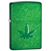 Zippo Marijuana Leaf Pipe Windproof Lighter