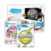 uDraw tablet Wii with Instant Artist, Disney Princess Enchanting Storybooks and Pictionary Game Wii