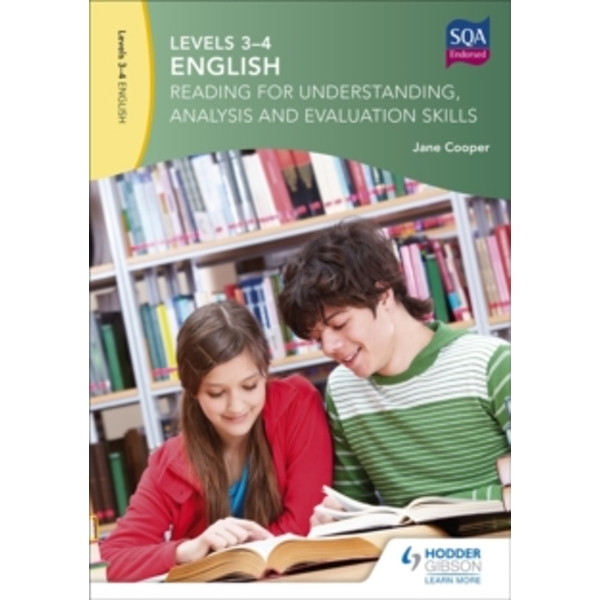 Levels 3-4 English: Reading for Understanding, Analysis and Evaluation Skills by Jane Cooper (Paperback, 2016)
