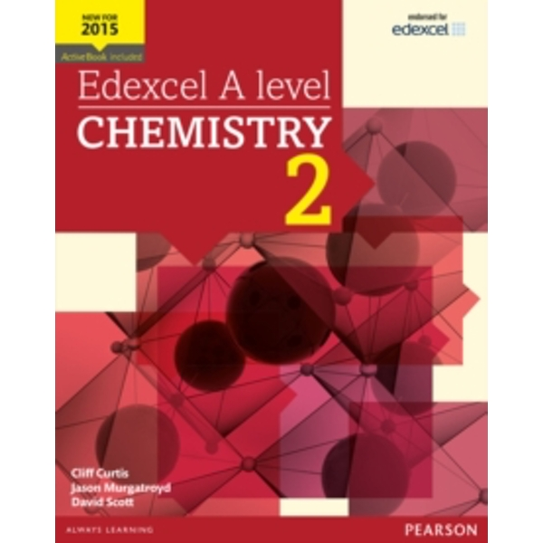 Edexcel A level Chemistry Student Book 2 + ActiveBook