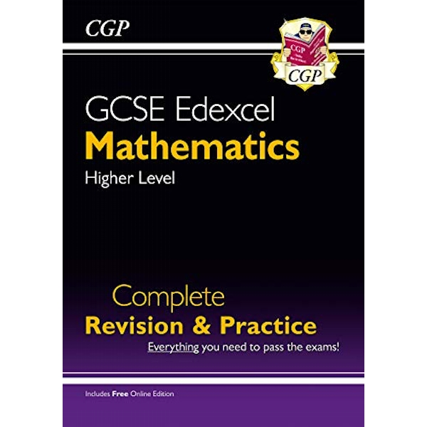 New GCSE Maths Edexcel Complete Revision & Practice: Higher - Grade 9-1 Course (with Online Edition) by CGP Books (Paperback, 2015)