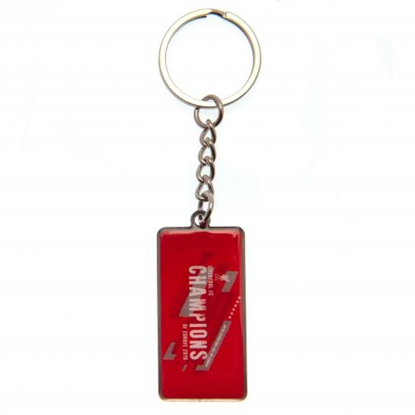 Champions Of Europe Liverpool FC Keyring