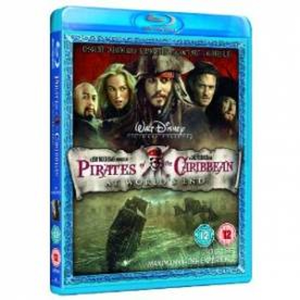 Pirates Of The Caribbean 3: At World's End Blu-ray