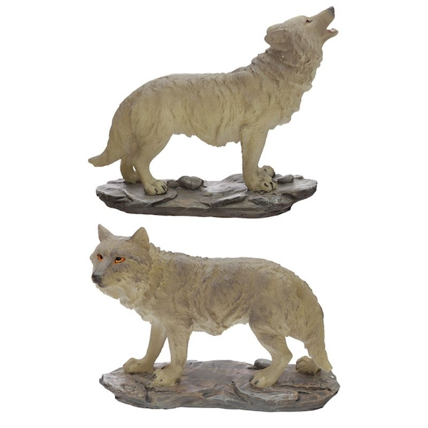 Protector of the North Moonlight Protector Wolf Figurine