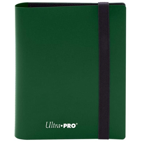 Ultra Pro Eclipse 2-Pocket Pro-Binder - Forest Green