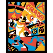 Crash Bandicoot - Posterized Framed 30 x 40cm Print
