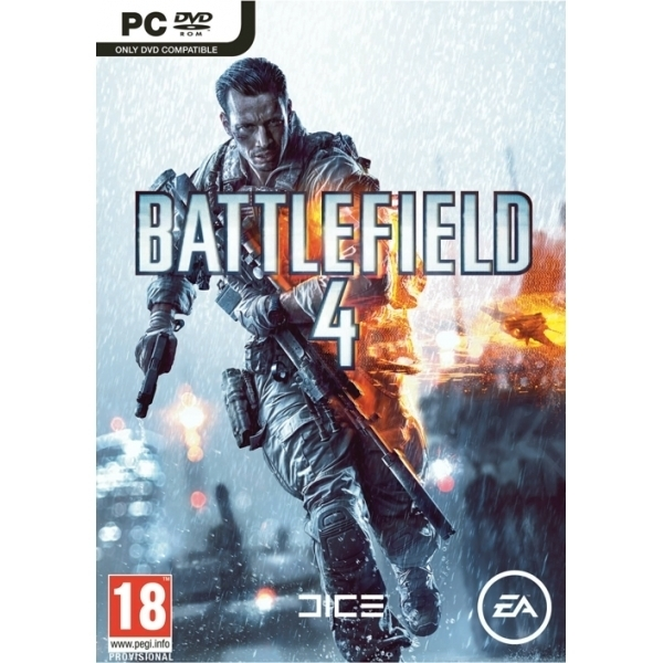 Battlefield 4 Game (Includes China Rising DLC) & You Enlist Khaki T-Shirt Medium PC - Image 2