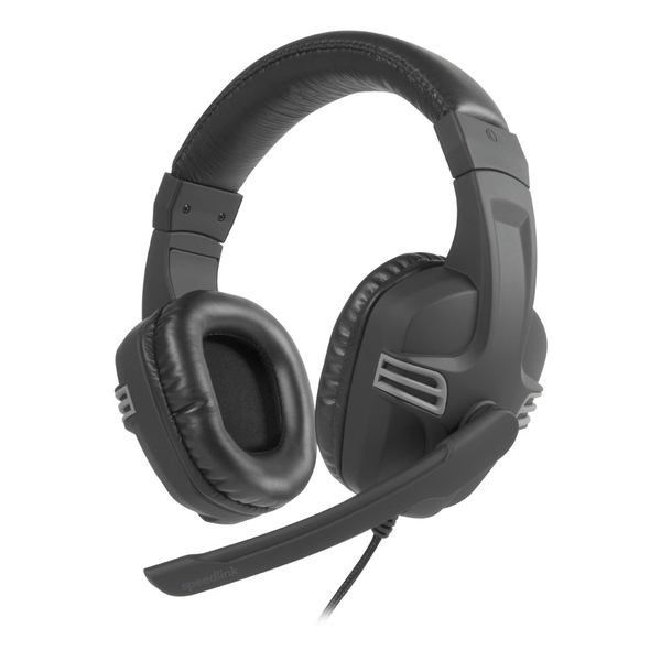 Speedlink Versico Full-Size Stereo Headset with Microphone 2m Cable
