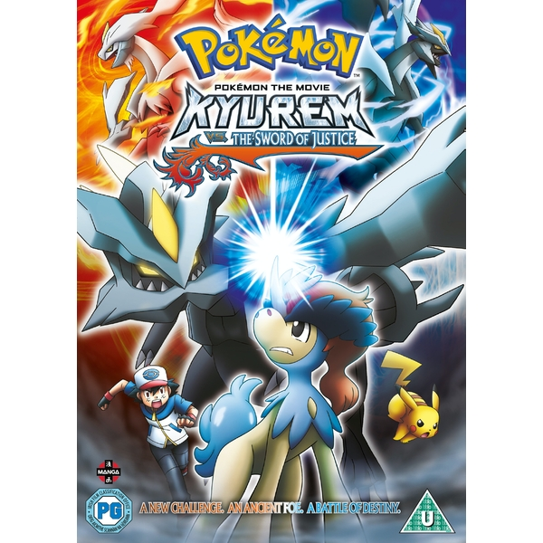 Pokemon Movie 15: Kyurem Vs. The Sword of Justice DVD