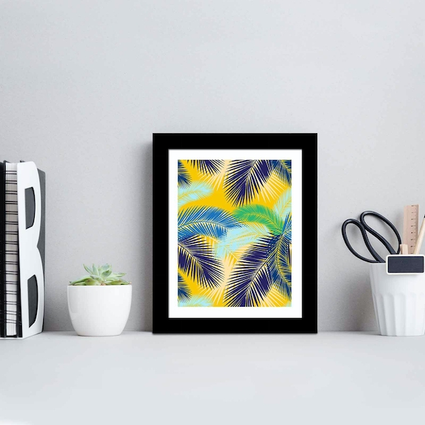 SCT-092 Multicolor Decorative Framed MDF Painting