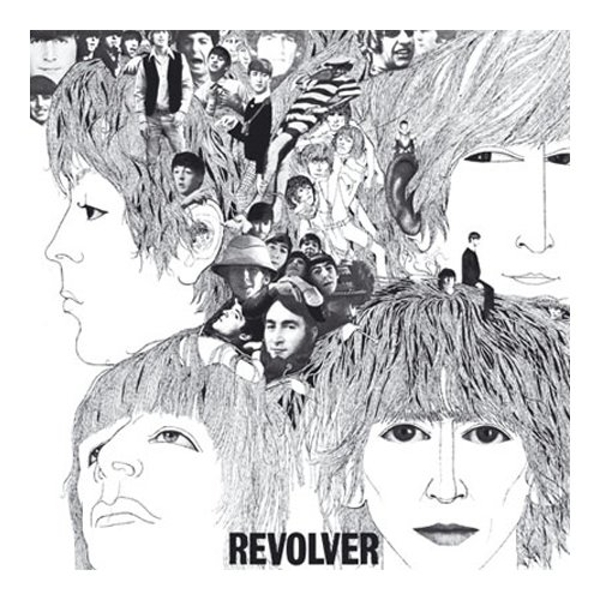 The Beatles - Revolver Greetings Card