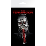 The Terminator Logo Key Ring