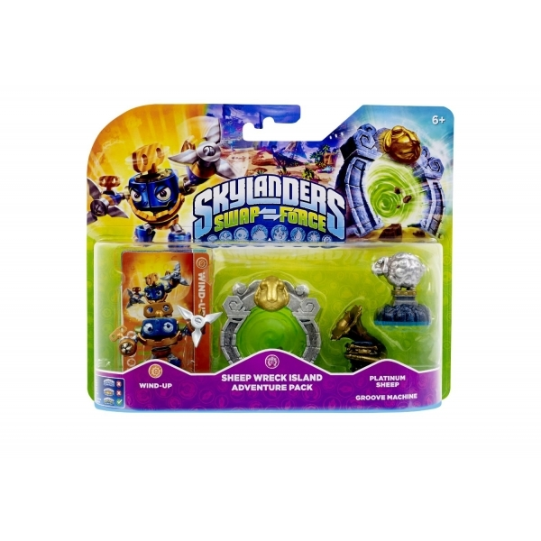 Sheep Wreck Island Adventure Pack (Skylanders Swap Force)