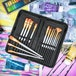 15 Piece Artists Paint Brush Set & Case | Pukkr - Image 2