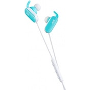 JVC HA-EBT5 Wireless Sports In-Ear Bluetooth Headphones Blue