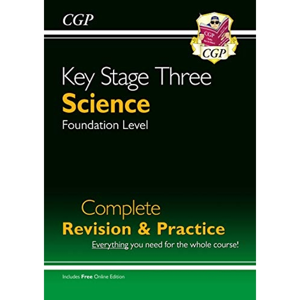 New KS3 Science Complete Revision & Practice - Foundation (with Online Edition)  Paperback / softback 2018