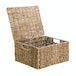 Seagrass Storage Basket with Lid | M&W - Image 5