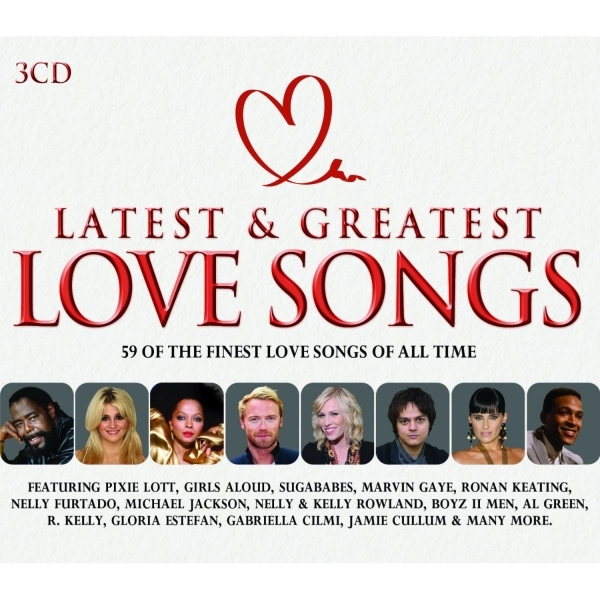 Latest & Greatest Love Songs CD