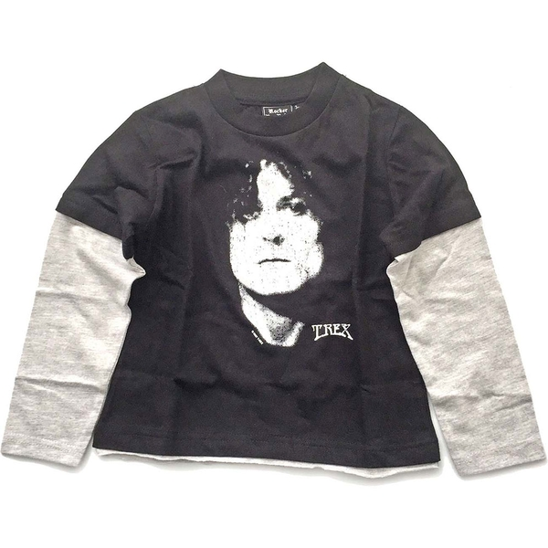 T-Rex - Marc Bolan Kids 3 - 4 Years T-Shirt - Black