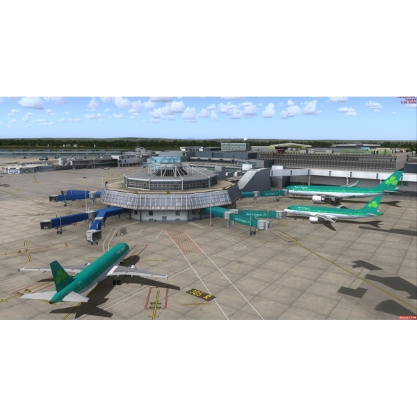 Mega Airport Dublin (For FSX) PC Game - Image 3
