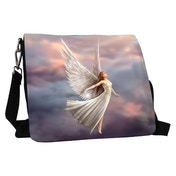 Ascendance Angels Embossed Shoulder Bag