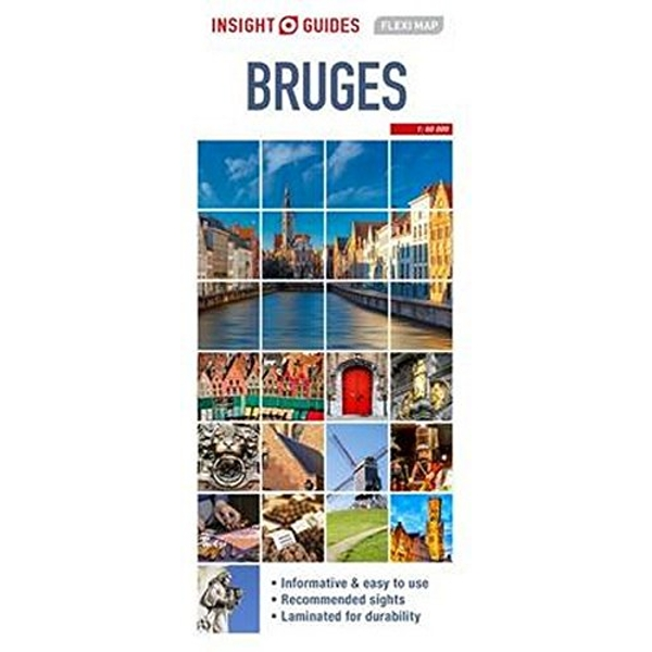 Insight Guides Flexi Map Bruges  Sheet map 2017