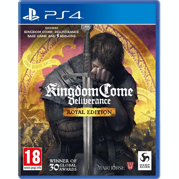 Kingdom Come Deliverance Royal Edition PS4 Game - Image 1