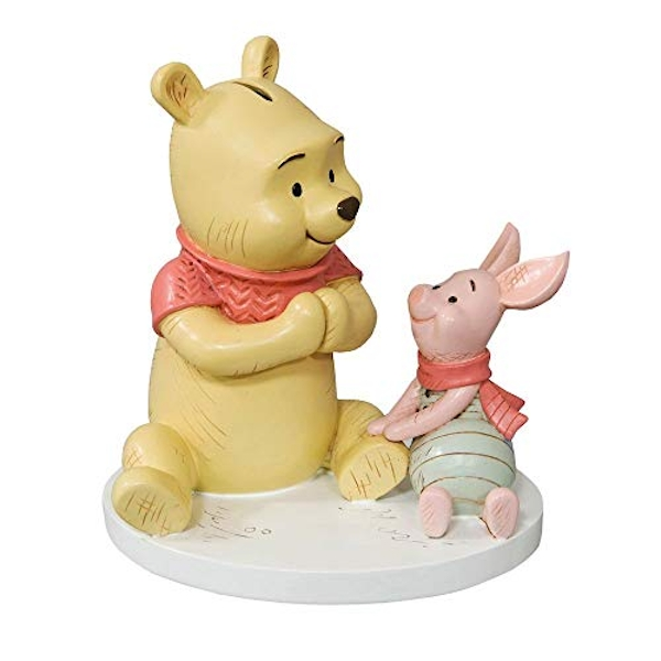 Disney Christopher Robin Resin Money Bank Winnie & Piglet
