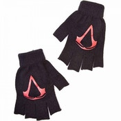 Assassin's Creed Unisex Red Brotherhood Crest Fingerless Gloves