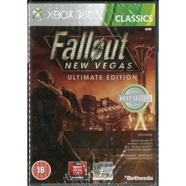 Fallout New Vegas Ultimate Edition Game (Classics) Xbox 360
